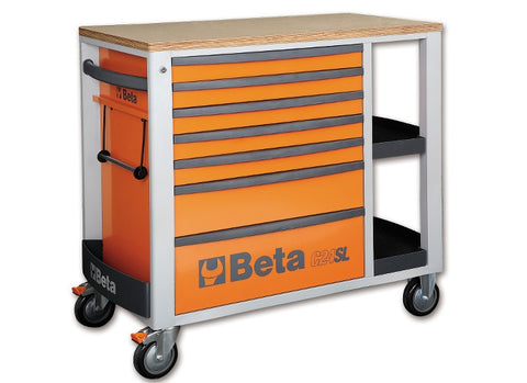 Beta Tools C24SL O-MOBILE ROLLER CAB ORANGE