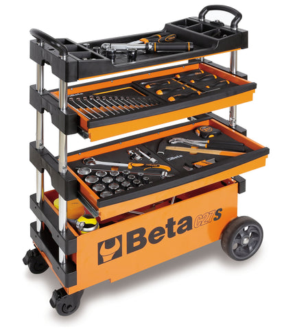 Beta Tools Folding Tool Trolley