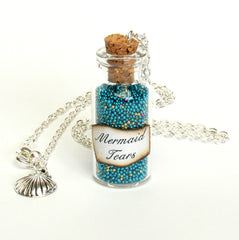 mermaid necklace party favour
