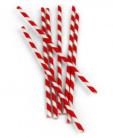 red and white candy stripe