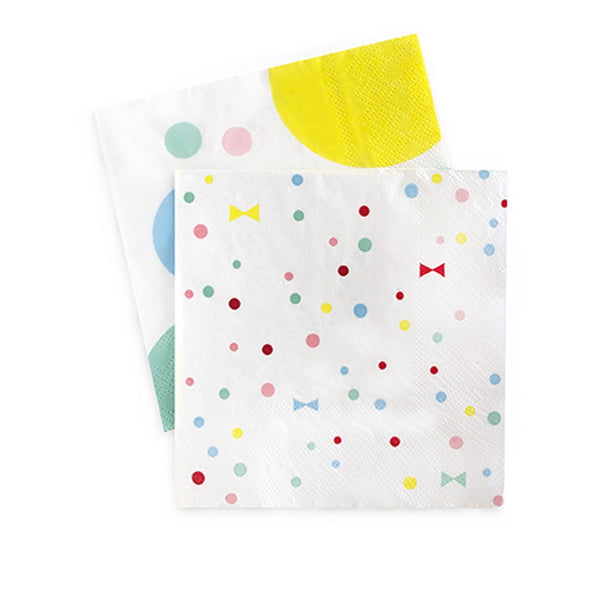 SUMMER BOWS NAPKINS <br>(20 pack)