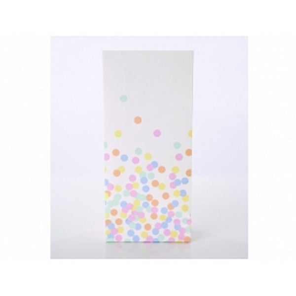 CONFETTI DOT <BR>TREAT BAGS (10 pack)