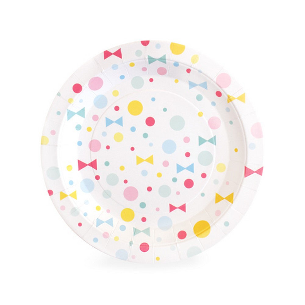 SUMMER BOWS PLATES<br>(12 pack)