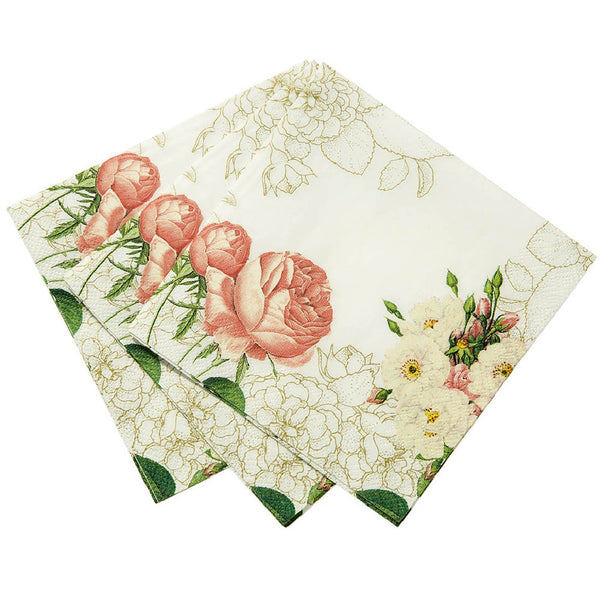 BLOSSOM & BROGUES <br>NAPKINS (20 pack)