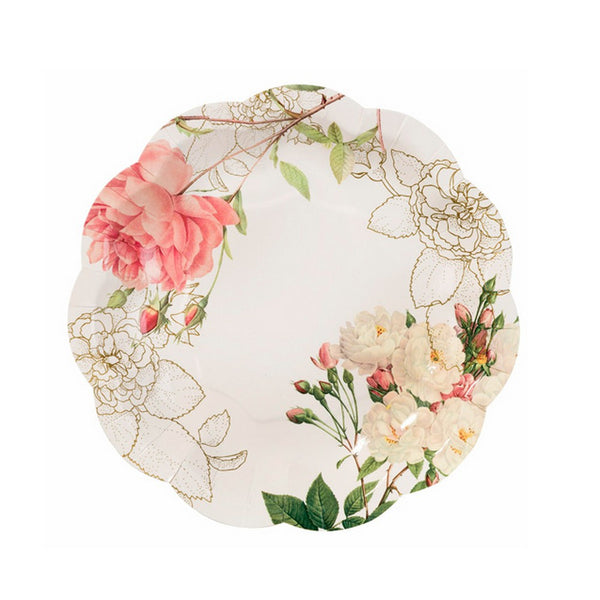BLOSSOM & BROGUES PLATES (12 pack)