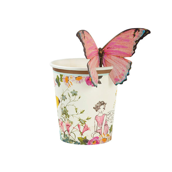 TRULY FAIRY BUTTERFLY <br>CUPS (12 pack)