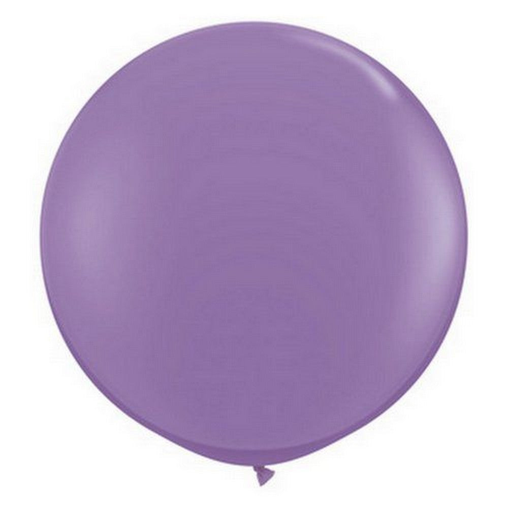 LILAC GIANT BALLOONS 90CM (2 pack)
