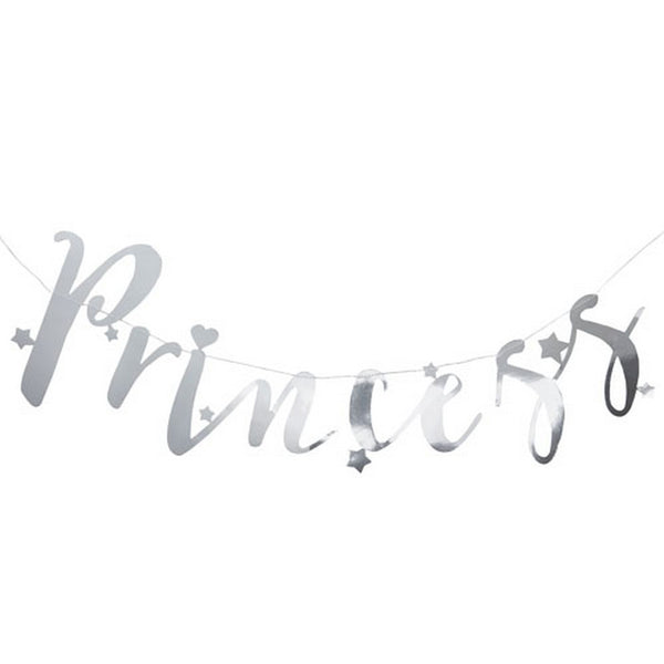 "SILVER ""PRINCESS"" BACKDROP"