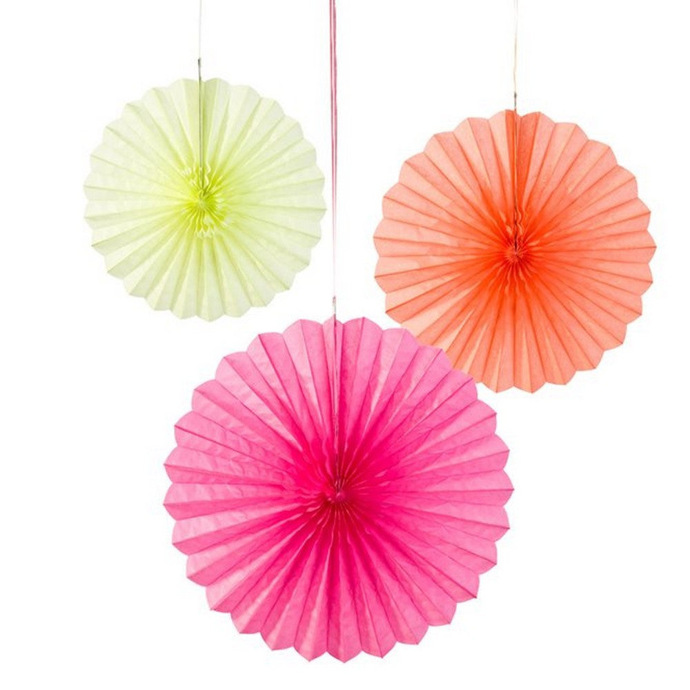 FLUORESCENT FAN MIX<BR> (3 pack)