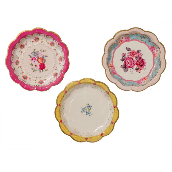 TRULY SCRUMPTIOUS PLATES (12 pack)