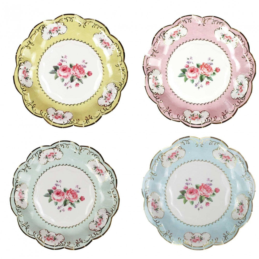 TRULY CHINTZ<BR>SMALL PLATES (12 pack)