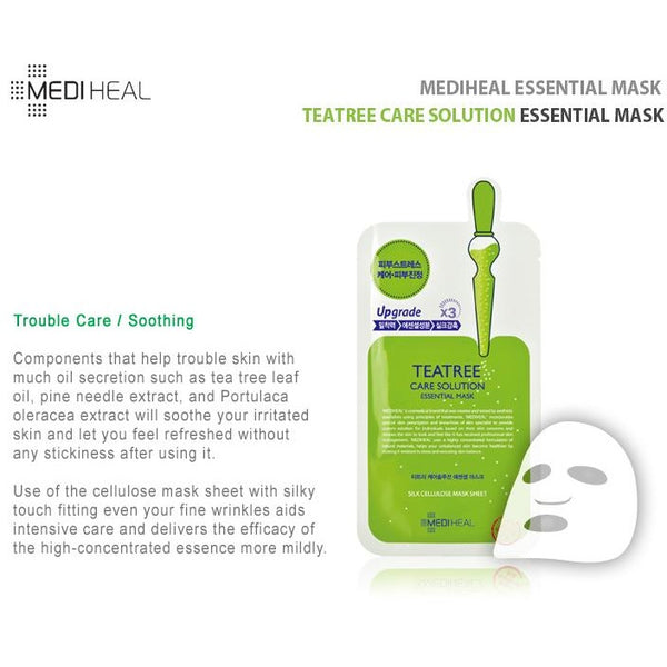 Mediheal Teatree Healing Solution Essential Mask (25ml x 1 sheet)