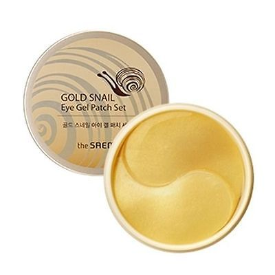THE SAEM Gold Snail Eye Gel Patch Set 100g