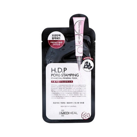 Mediheal H.D.P Pore-Stamping Charcoal-Mineral Mask 1 Sheet