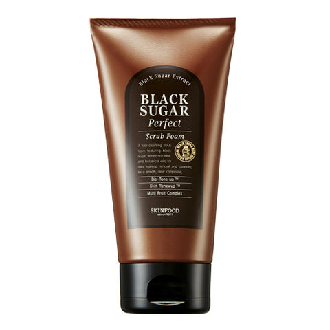 Skinfood Black Sugar Perfect Scrub Foam (180g)