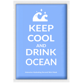 Adaline Keep Cool and Drink Ocean Face Mask  (1 Sheet)
