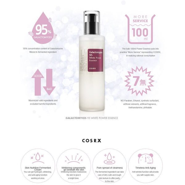 COSRX Galactomyces 95 Whitening Power Essence (100ml)