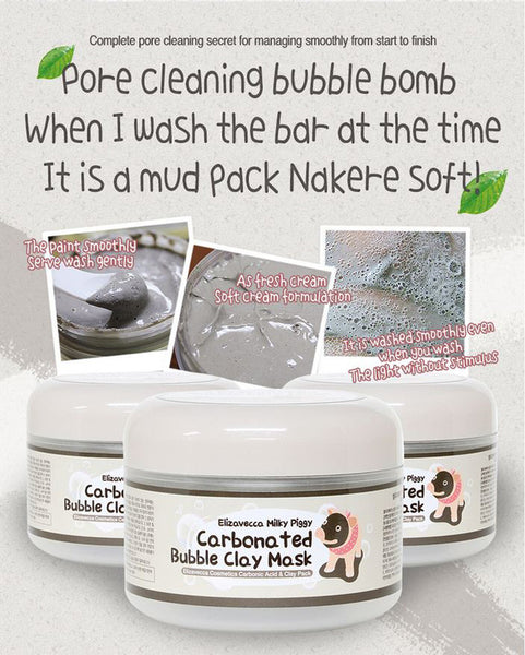Elizavecca - Carbonated Bubble Clay Mask