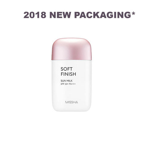 *2018 RENEWAL*      All-around Safe Block Soft Finish Sun Milk