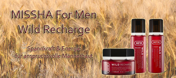 MISSHA For Men Wild Recharge Cream 60ml