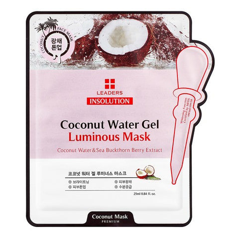 Leaders Premium Insolution Coconut Water Gel Luminous Mask