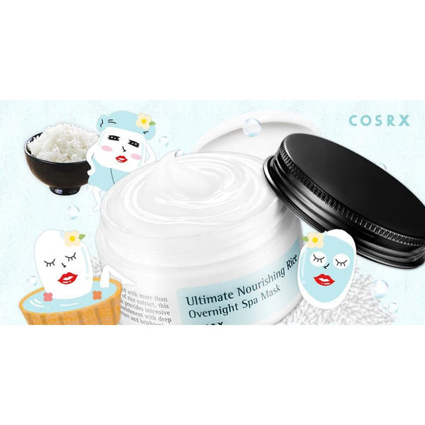 COSRX Ultimate Nourishing Rice Overnight Spa Mask - 50g