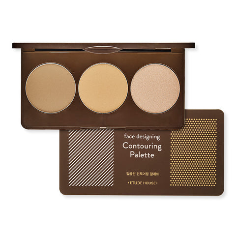 Face Designing Contouring Palette Pink Brown
