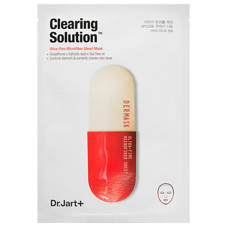 Dr. Jart Clearing Solution Ultra-Fine Microfiber Mask Single Use