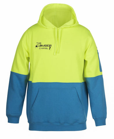 High Vis Pull Over Hoody