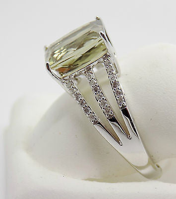 3.43 Ct Zultanite .18 Ct. Diamond Ring 14k Solid Gold Rare Natural Sz 7 RA00187