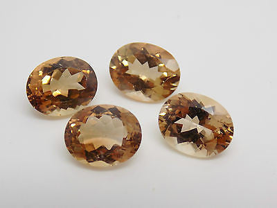 10x8mm Smokey Quartz Oval Loose Gemstone 3.12 ct each (1 gem) NEW  703