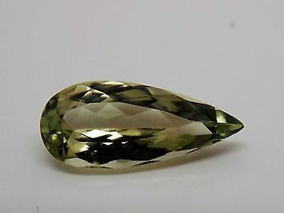RARE Zultanite Natural Color-Change Loose Gem 3.8 Ct. Cert of Auth 237 -17x7.5mm