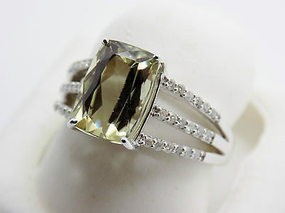 3.43 Ct Zultanite® .18 Ct. Diamond Ring 14k Solid Gold Rare Natural Sz 7 RA00187