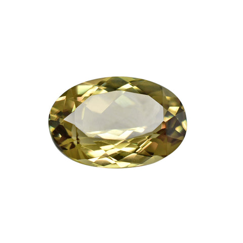 4.07 Ct. Natural Zultanite® Loose Gem Gemstone - 12x8.5mm Oval Cut W Cert Of Authenticity #201