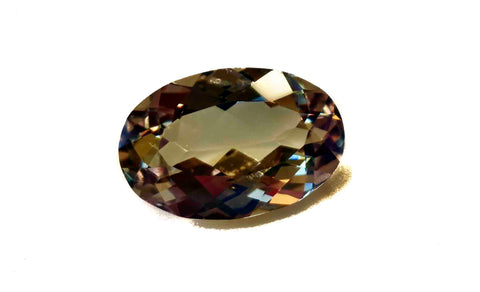 RARE Zultanite Natural 13x9mm Oval Cut Loose Gemstone 4.49 Ct. Cert of Auth 203