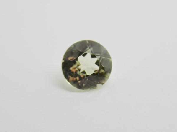.48 Ct. Zultanite Natural Loose Gem 5.2mm Round Cut Cert of Auth B027 .55 Ct.
