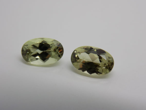 SOLD OUT - Zultanite Natural Loose Gems 8x5mm Oval Cut Pair (2) 2.42 CTW Cert of Auth C008