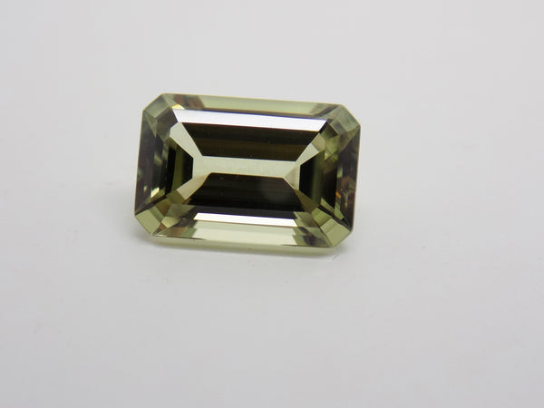 4.9 Ct Zultanite Color-Change Loose Gem 12x8mm Emerald Cut Cert Auth D009b