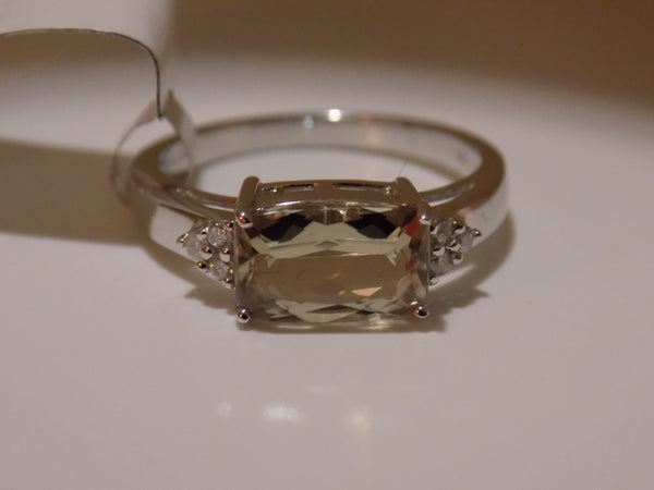 2.05 Ct. Zultanite & .09 Ct. Diamond Ring 14k Solid Gold Cert Of Auth DR0111