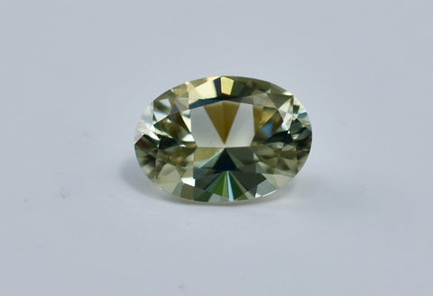 1.13 Ct Natural Zultanite Loose Gem Gemstone 8x5.5mm Precision Oval Brilliant Cut W Cert Of Auth F005