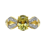 1.36 Ct. Zultanite & .04 Ct. Diamond Ring 14k Solid Gold NWT Rare & Natural