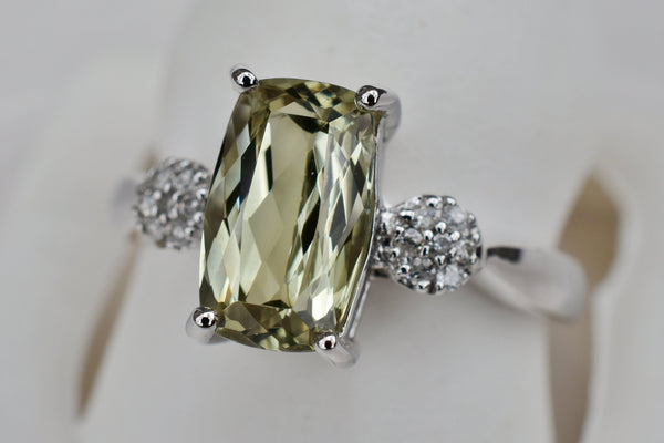 2.43 Ct Zultanite® .07 Ct. Diamond Ring 14k Solid Gold Rare Natural Sz 7 BR03816