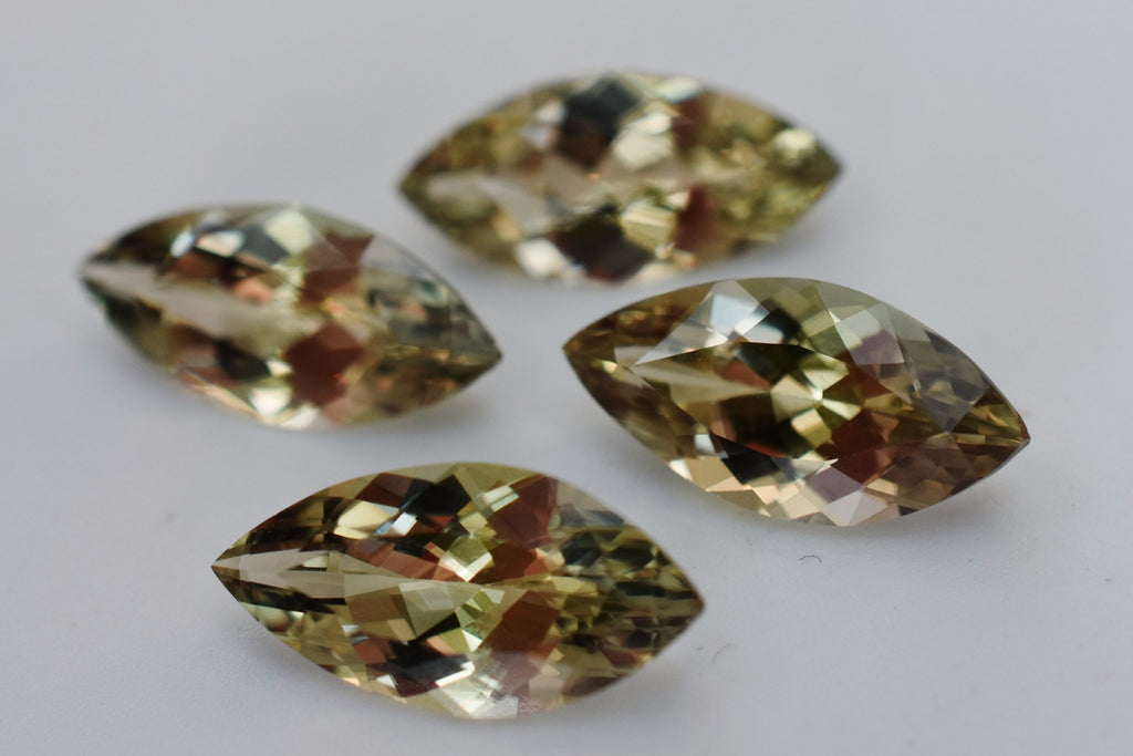 (1) 1.7+ Ct Zultanite Color-Change Loose Gem 14x7mm Marquise Cut Cert Auth D007