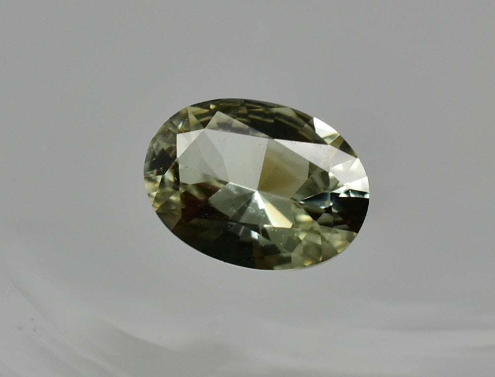 SOLD OUT 0.98 Ct Natural Zultanite Loose Gem Gemstone 8x5.5mm Precision Oval Brilliant Cut W Cert Of Auth E012