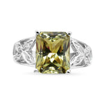 4 Ct Zultanite® .05 Ct. Diamond Ring 14k Solid Gold Rare Natural Sz 7 BR08647