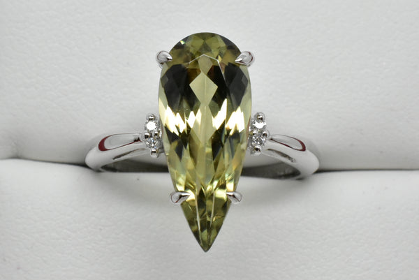 4.11 Ct. Zultanite® & .02 Ct. Diamond Ring 14k Solid Gold NWT Natural BR04196