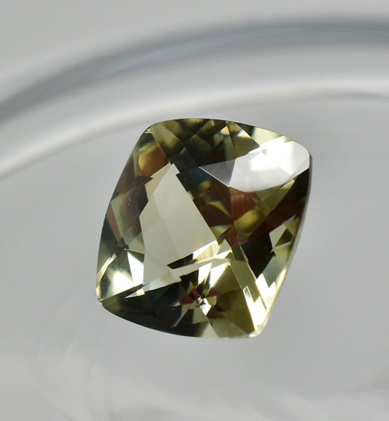 3.72 Ct. RARE Zultanite Natural Antique Cushion Cut Loose Gemstone 9.5x9.5mm Cert of Auth 138
