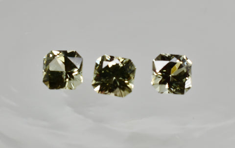 0.24 Ct. Natural Zultanite® Loose Gem Gemstone - (1) 3.5mm Scintillating Square Brilliant Cut w Cert of Authenticity E022