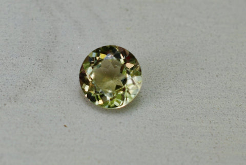 .59 Ct. Zultanite Natural Loose Gem 5.2mm Round Cut Cert of Auth B027