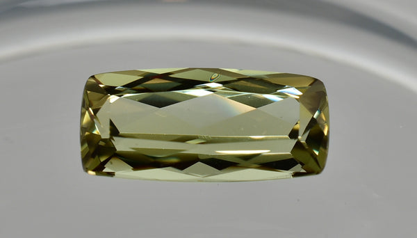 3.63 Ct. Natural Zultanite Loose Gem Gemstone - 16.5x6mm Antique Cushion Cut W Cert Of Auth 128